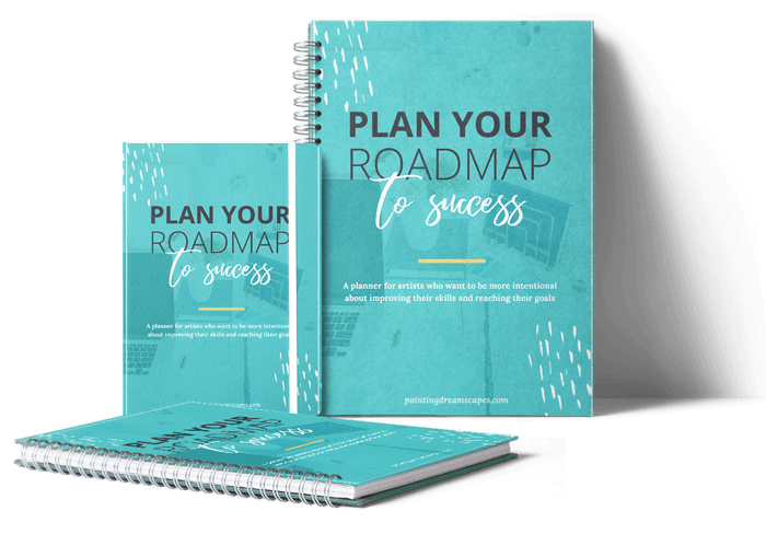 Plan your roadmap to success planner - mockup