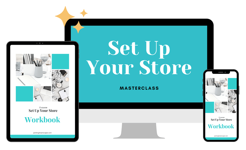 set up your store mockup 2021